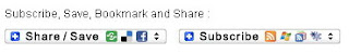 social bookmark addtoany button