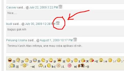 delete comment blogger blogspot