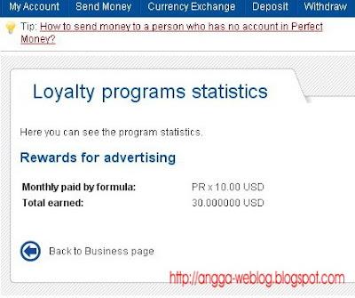 Pay to put logo PerfectMoney