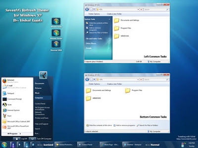 Free Download Windows XP themes - Windows 7