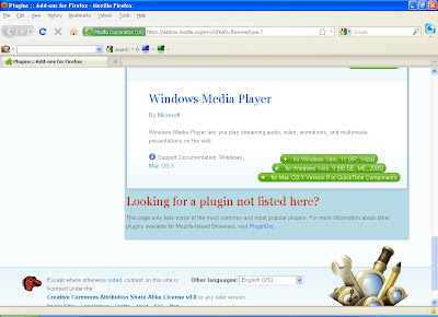 Windows Media Player Plugin for Mozilla Firefox TV-FOX