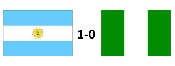 Video Highlights Argentina vs Nigeria, 1-0, World Cup 2010 Match ...