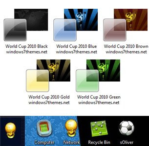 World Cup 2010 windows 7 theme pack