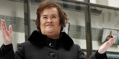 Susan Boyle monta escena en un aeropuerto de Londres