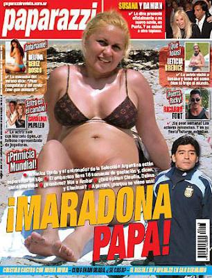 Maradona será nuevamente papá
