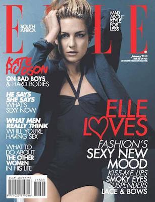 Kate Hudson  en la Portda de Elle Sudáfrica (Febrero 2010)