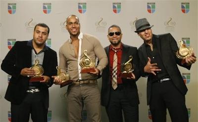 Aventura máximo ganador de los Premios Lo Nuestro