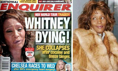 Whitney Houston sufrió una sobredosis de droga y alcohol