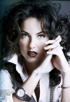 Barbara Mori en la Revista Marie Claire México (Diciembre 2009)
