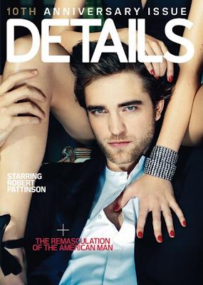 Robert Pattinson en la portada de la revista Details (Marzo 2010)