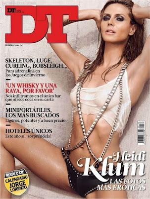 Heidi Klum en la Revista DT España (Febrero 2010)