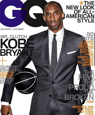 Kobe Bryant en la Revista GQ US (Marzo 2010)