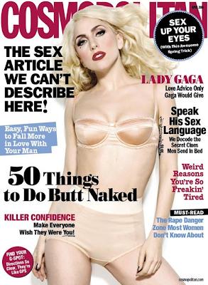 Lady Gaga en la Portada de Cosmopolitan (Abril 2010)