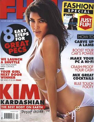 Kim Kardashian en la Revista FHM Australia (Abril 2010)