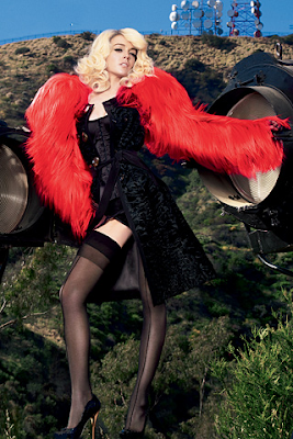 Lindsay Lohan en Vogue España (Agosto 2009)