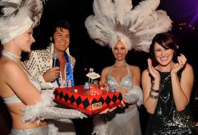 Rumer Willis celebra su cumpleanos en Las Vegas