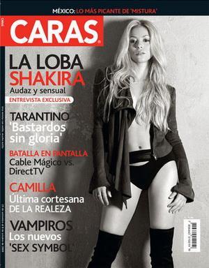 Shakira en la portada de la Revista Caras