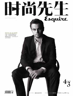 Leonardo DiCaprio en la Portada de Esquire China