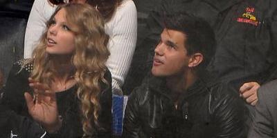 Romance entre Taylor Lautner y Taylor Swift causa revuelo entre sus seguidores