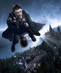 Daniel Radcliffe desnudo en Harry Potter