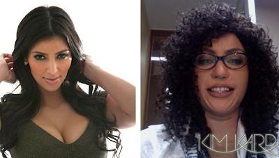 Nuevo look de Kim Kardashian