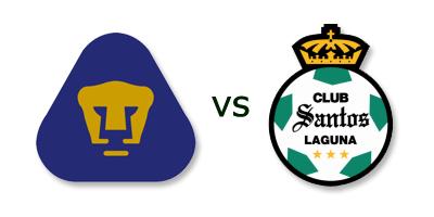 Pumas UNAM vs Santos Laguna en VIVO