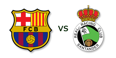 FC Barcelona vs Racing Santander en VIVO