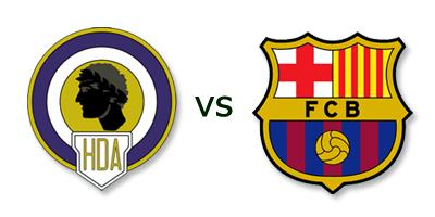Hercules vs FC Barcelona en VIVO