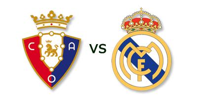 Osasuna vs Real Madrid en VIVO