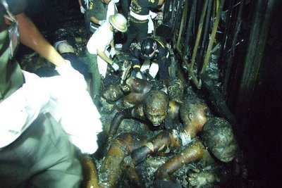 Dead in burn at night club at Thailand