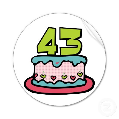 [Image: 43_year_old_birthday_cake_sticker-p21765...cl_400.jpg]