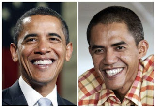 Barack Obama and Ilham Anas