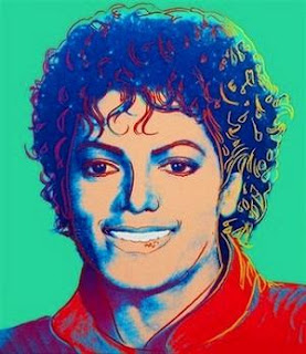 Michael Jackson and Warhol