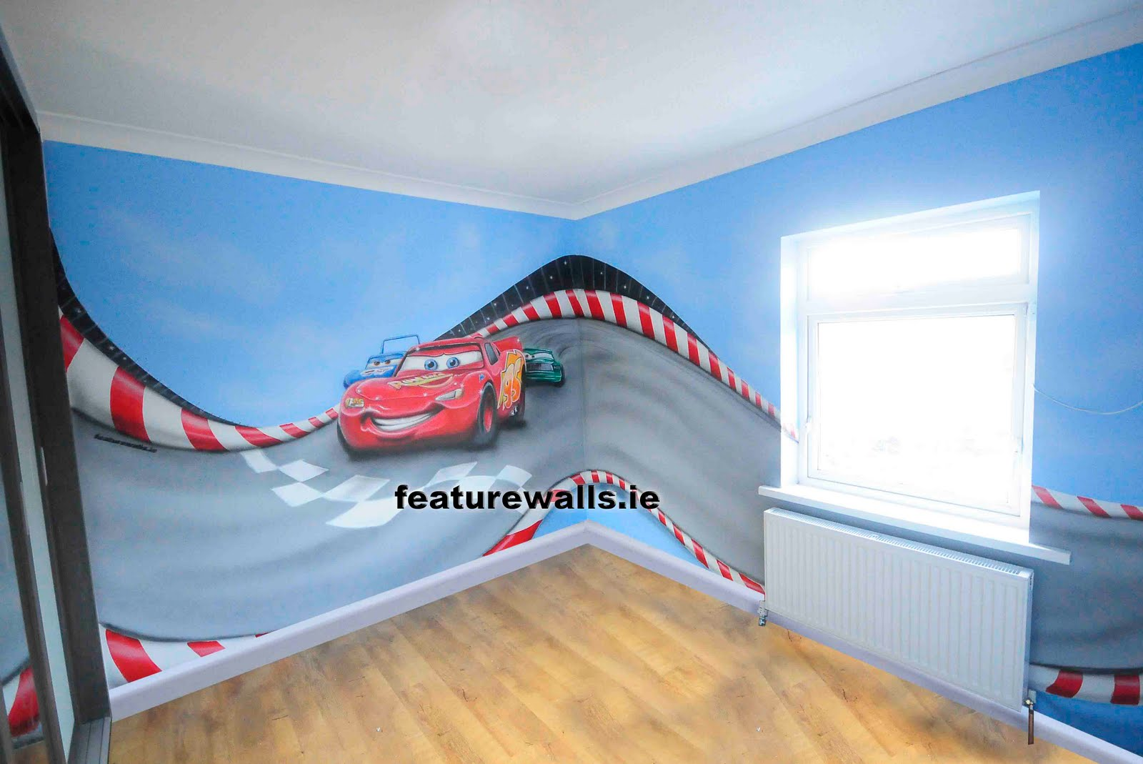 Mural painting pictures posters news and videos on your pursuit hobbies interests and worries - Disney pixar cars wall mural ...