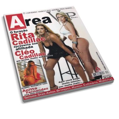 Rita E Cl O Cadillac Revista Area Vip Brasil