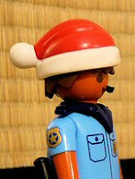 Bermuda Police in the Christmas spirit
