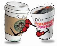 ¿starbucks vs dunking donuts?