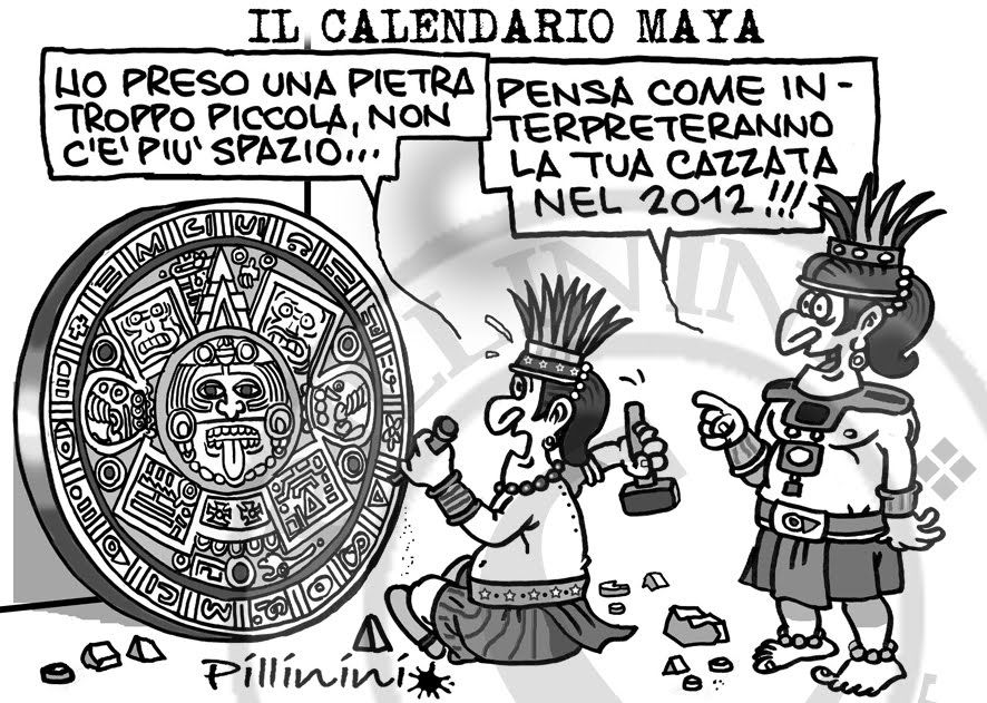 Calendario MAYA - la vera storia
