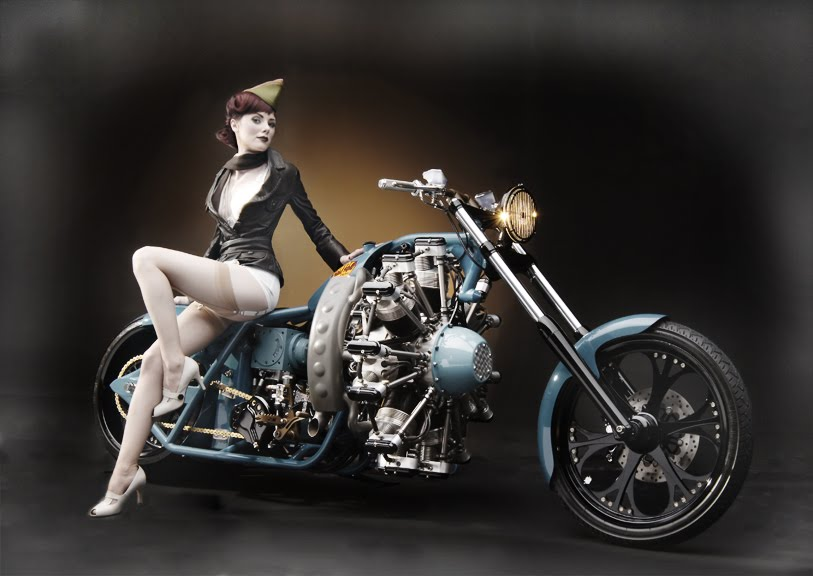 millecavalli LIFESTYLE  Radial Hell by West Coast Choppers