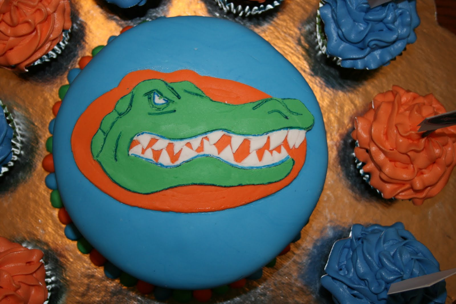 florida gators cakes