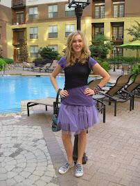 Ballet Inspired Skirt!