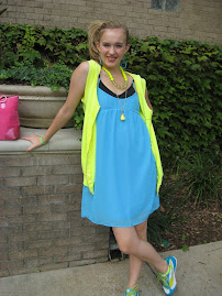Bright Blue Dress - $2.99
