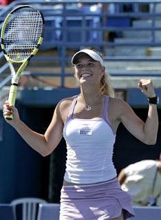 Wozniacki wins again