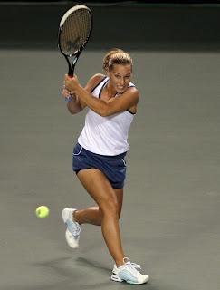 Dominika Cibulkova lost to Dinara Safina