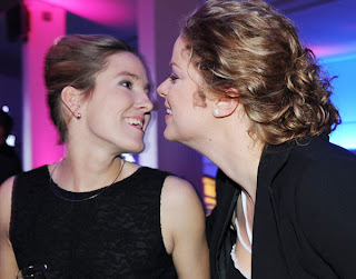 Henin and Clijsters