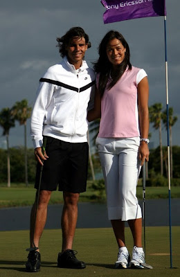 Rafael Nadal and Ana Ivanovic