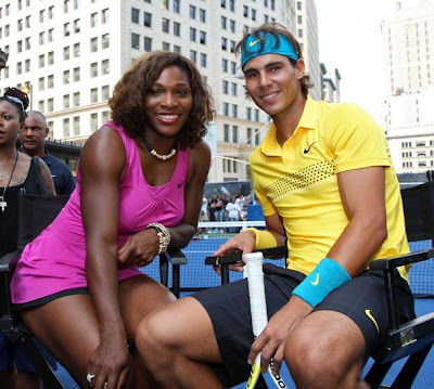 Rafa and Serena in New York