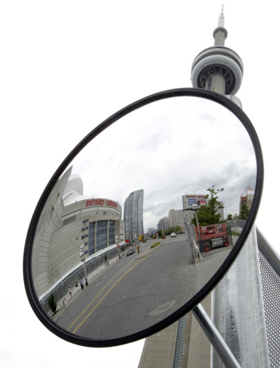 Vanity Light Upside Down : Bigge Idea: The Fake and Real of Toronto s Upside-Down G20 Mirror