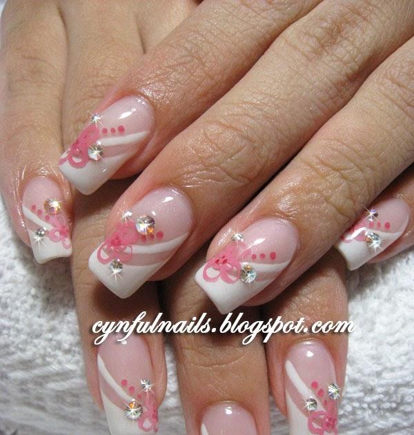 cynful nails lots of bridal