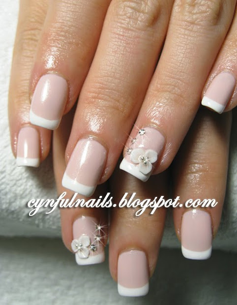 classic french manicure buzz